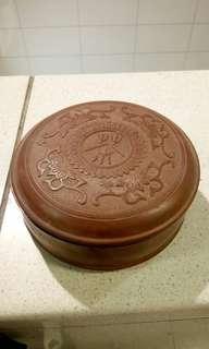 70年代欽州坭興陶茶具-套