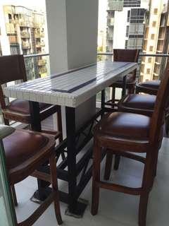 Unique outdoor table