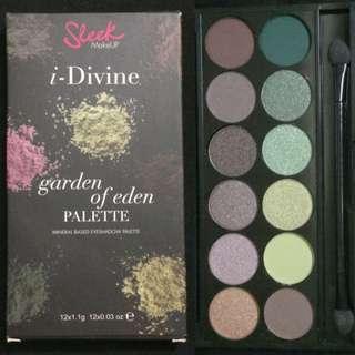 Mother's Day Special - 10% off BNIB: Sleek Garden of Eden Eyeshadow Palette