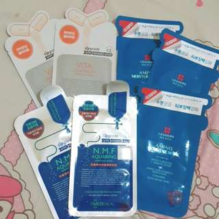 Bundle Sheetmask Leaders Mediheal Masker