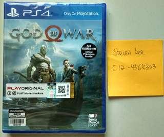 PS4 God of War Rall Eng/中文