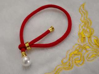 ✨Red Cord with Pearl✨