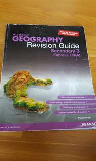 All about Geography Revision Guide Secondary 3