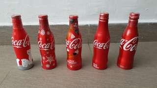 Various Alum Coke Collectibles
