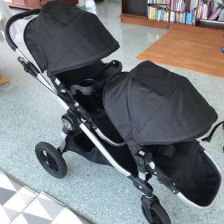Baby Jogger City Select Double Pram / Stroller