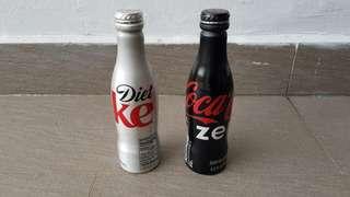 Silver & Black Coke Zero