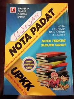 Nota padat UPKK