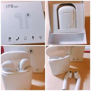 蝦皮最便宜雙耳才$300 無線藍芽耳機 I7S 運動耳機 IPHONE ANDROId運動商務藍芽耳機 AirPod