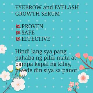 Eyebrow and eyelash serum Promo