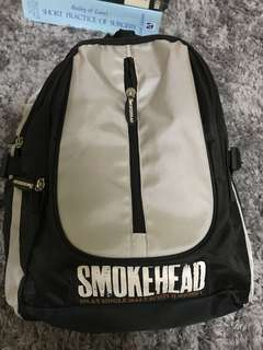 smokehead single malt whiskey bag