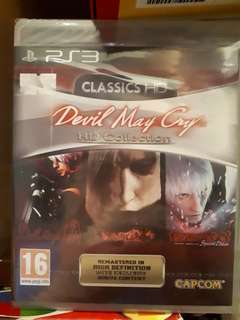 Ps3 Devil May Cry Trilogy HD Collection (unused and sealed)