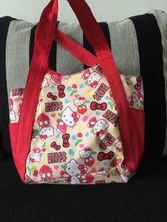 HELLO KITTY SANRIO RED BAG