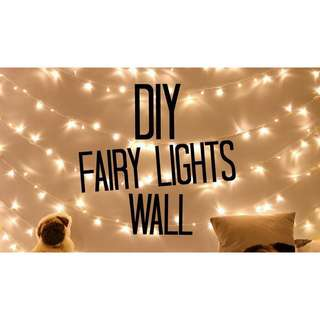 10m Battery Operated Warm White Fairy Lights