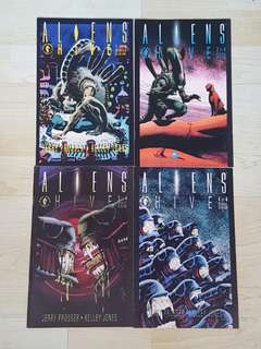 Dark Horse Comics Alien Hive Complete 4 Issue Mini-Series Near Mint Condition Kelly Jones Art