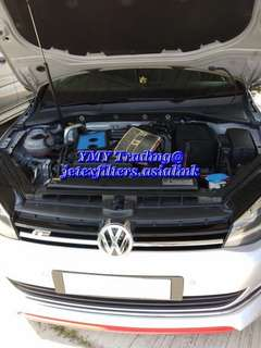 Golf MK 7 1.4 tsi replaces with Jetex high flow performance drop in air Filter with 99% filtration at 2.8 microns...
