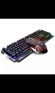 RGB賽德斯機械式鍵盤(茶軸)