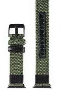 100% Brand New Apple Watch 42mm 軍綠色厚身尼龍錶帶