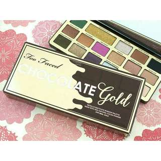 TOO FACED CHOCOLATE GOLD BAR PALETTE
