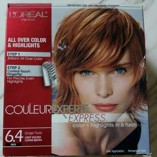 Loreal 2-in-1 hair color + hair highlights