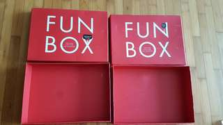 NDP Fun Box. Not for fussies. For collectors.