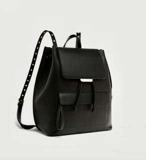 BN authentic Zara black backpack