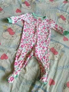 *Repriced *Flowery baby romper onesie