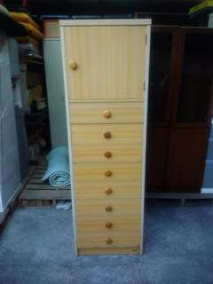 1 Door & 8 Drawers Cabinet (P4,500)