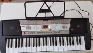 Digital organ keyboard