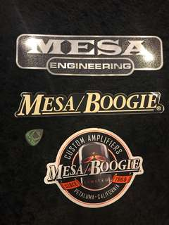 Mesa Boogie stickers