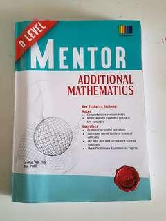 additional mathematics o level mentor (sl education)