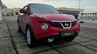 Nissan Juke Rx 1.5 cvt / 2014 merah metalik / 1.9 jt x 5 th