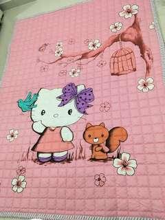Anti slip cotton Playmat (Hello Kitty)