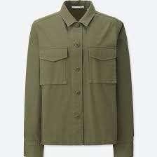 Uniqlo Military Shirt Jacket