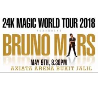 Cat 1 - Bruno Mars Kuala Lumpur