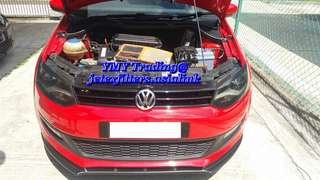 VW Polo 1.6cc replacement of Jetex high flow performance drop in air Filter with 99% filtration at 2.8 microns washable and reusable ..