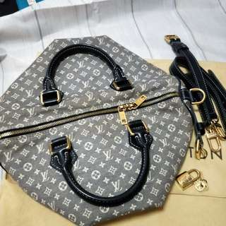LV Louis Vuitton speedy bandouliere 30 with sling strap