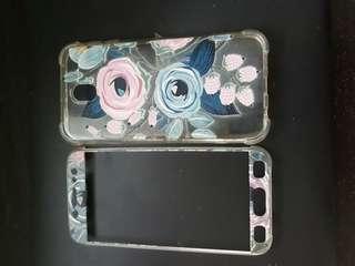 Samsung Galaxy J7 Pro Floral 360° Case
