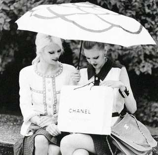 SALE! Authentic Chanel Umbrella
