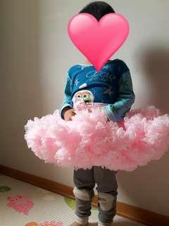 [二手近全新]美國Chic Baby Rose澎澎裙-Light Pink