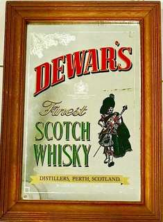 Dewar's Bar Mirror