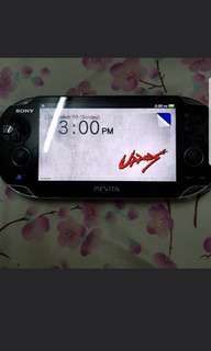 Ps vita with 3 games and 8gb memory