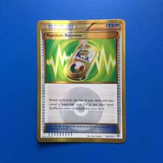 Pokemon Trainer Item Random Receiver 138/135