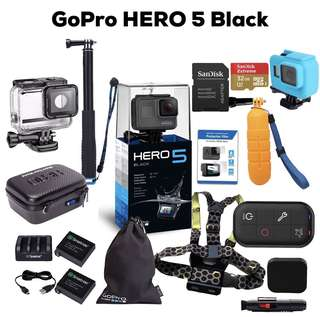 GoPro Hero 5 Black Basic / Package Funsportz MY