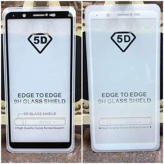 Vivo V7 5D Full Glue Tempered Glass