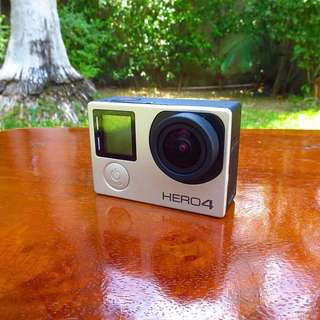 GoPro Hero 4 Silver Edition for sale