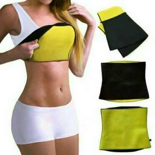 Spandex slimming belt