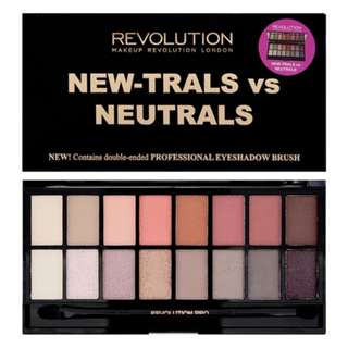 Mother's Day Special - 10% off BNIB: Makeup Revolution New-trals vs Neutrals
