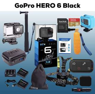 GoPro Hero 6 Black Basic / Package Funsportz Malaysia