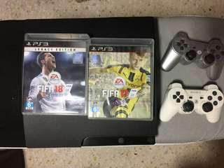 LAST CALL PS3 with 3 FIFA games