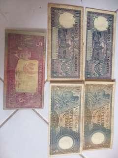 Uang kertas 5 Rupiah